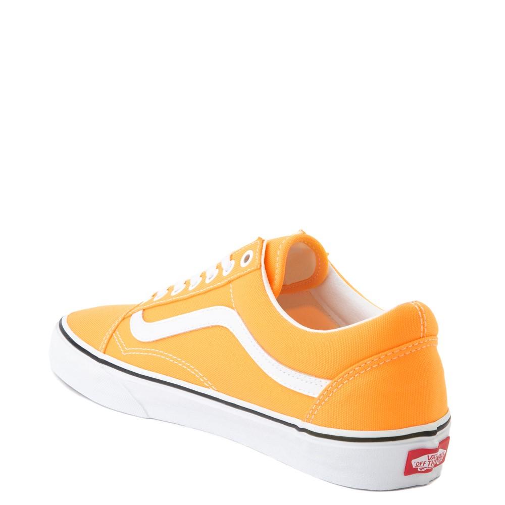 Vans Old Skool Skate Shoe - Neon Orange