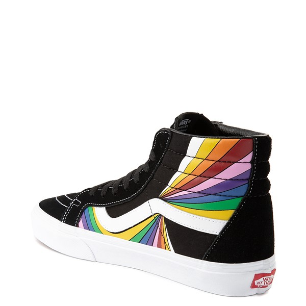 alternate view Vans Refract Sk8 Hi Reissue Skate Shoe - Black / MultiALT1