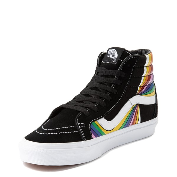 alternate view Vans Refract Sk8 Hi Reissue Skate Shoe - Black / MultiALT2