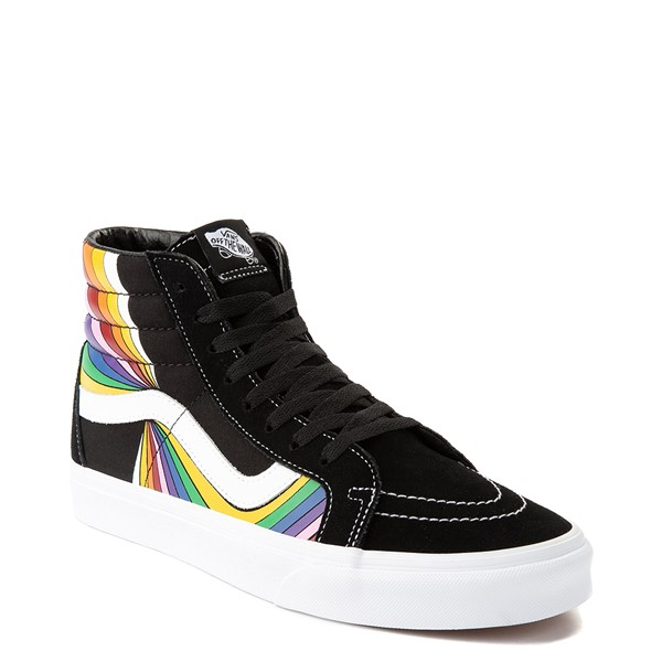 alternate view Vans Refract Sk8 Hi Reissue Skate Shoe - Black / MultiALT5