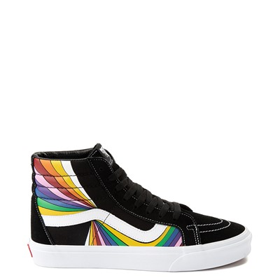 Main view of Vans Refract Sk8 Hi Reissue Skate Shoe - Black / Multi