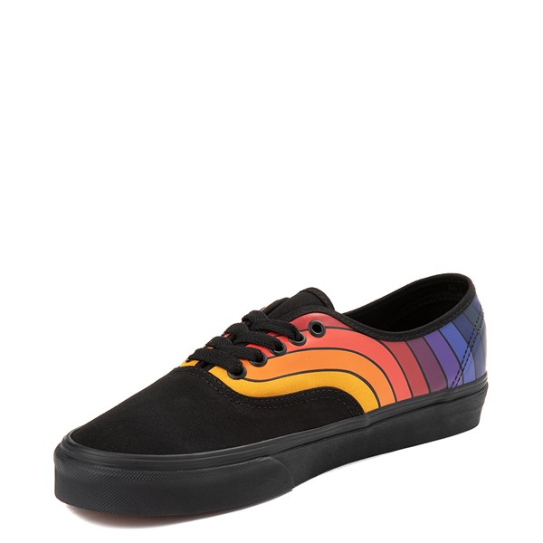 alternate view Vans Authentic Refract Rainbow Skate Shoe - BlackALT2