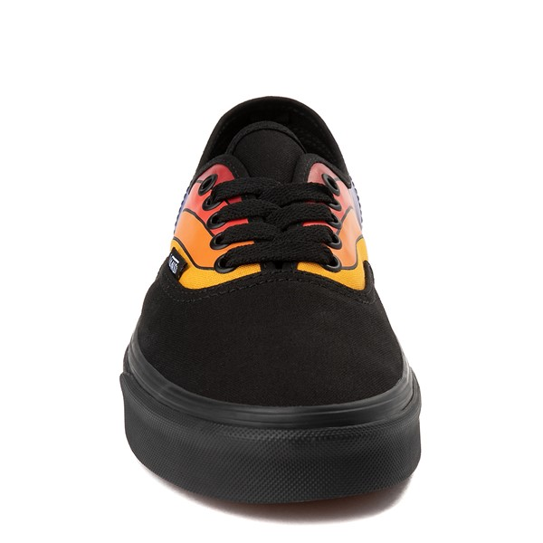 alternate view Vans Authentic Refract Rainbow Skate Shoe - BlackALT4