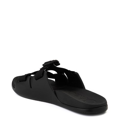 Alternate view of Mens Chaco Chillos Slide Sandal - Black