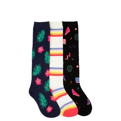 Main view of Retro Knee-High Socks 3 Pack - Little Kid