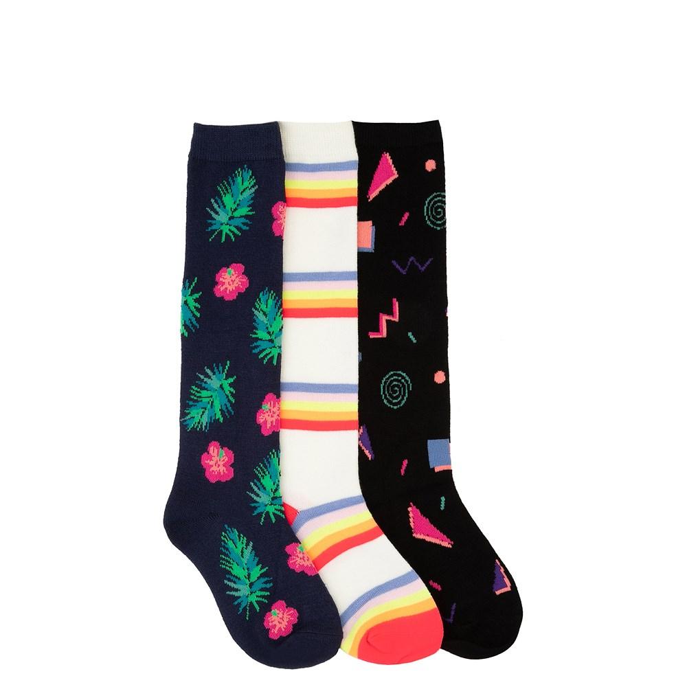 Retro Knee-High Socks 3 Pack - Little Kid