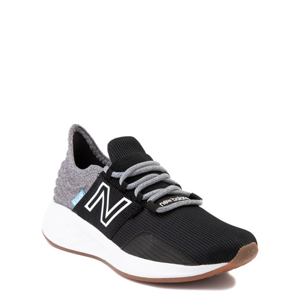 alternate view New Balance Fresh Foam Roav Athletic Shoe - Big Kid - Black / Light GrayALT1