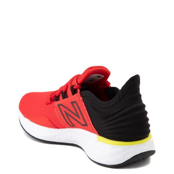 alternate view New Balance Fresh Foam Roav Athletic Shoe - Little Kid - Velocity Red / Magnet BlackALT2