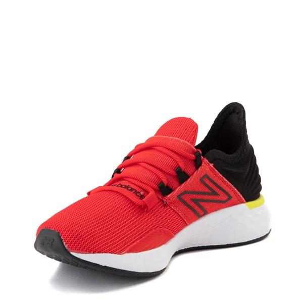 alternate view New Balance Fresh Foam Roav Athletic Shoe - Little Kid - Velocity Red / Magnet BlackALT3
