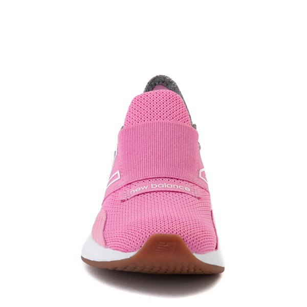 alternate view New Balance Fresh Foam Roav Slip On Athletic Shoe - Little Kid - Candy Pink / GrayALT4