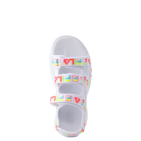 alternate view Fila Disruptor Sandal - Little Kid / Big Kid - White / MultiALT2