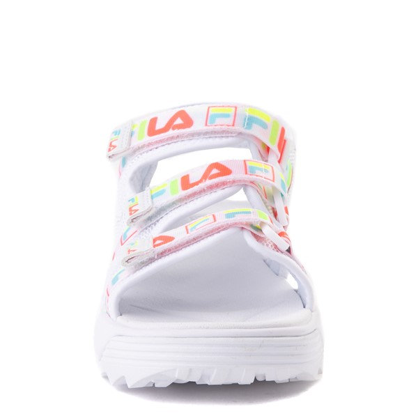 alternate view Fila Disruptor Sandal - Little Kid / Big Kid - White / MultiALT4