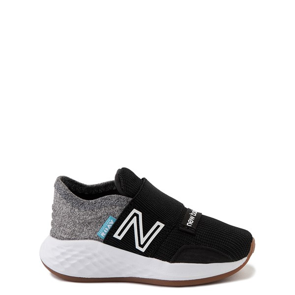 New Balance Fresh Foam Roav Slip On Athletic Shoe - Baby / Toddler - Black / Light Gray