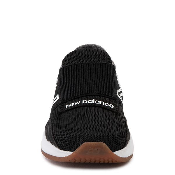 alternate view New Balance Fresh Foam Roav Slip On Athletic Shoe - Baby / Toddler - Black / Light GrayALT4