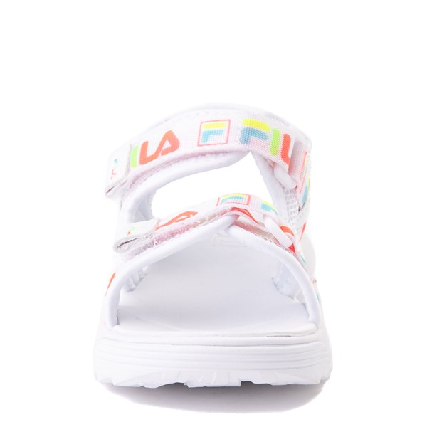 alternate view Fila Disruptor Sandal - Baby / Toddler - White / MultiALT4