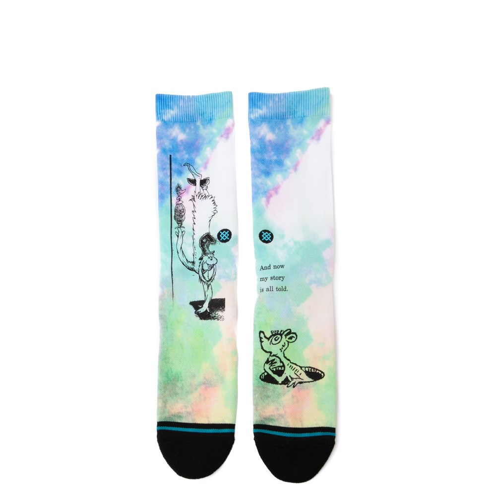 Mens Stance And Now My Story Crew Socks - Multi