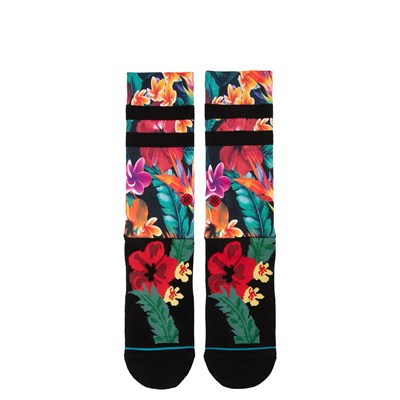 Main view of Mens Stance Pau Crew Socks - Black / Multi