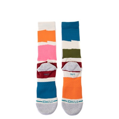 Alternate view of Mens Stance Destiny Crew Socks - White / Multi