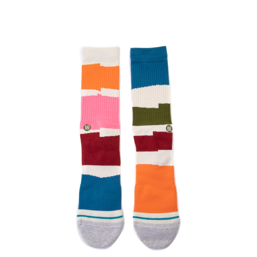 Mens Stance Destiny Crew Socks - White / Multi