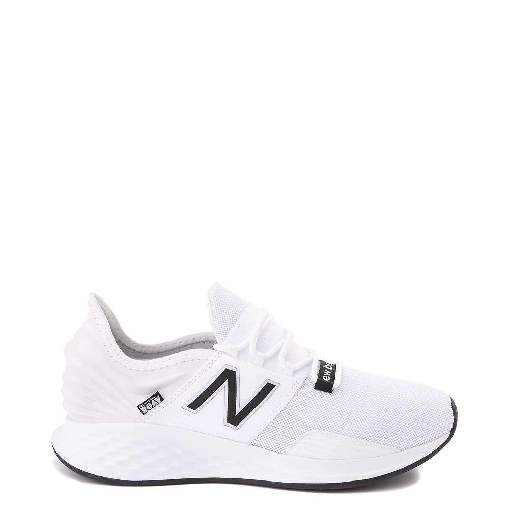 Mens New Balance Fresh Foam Roav Athletic Shoe - White / Black