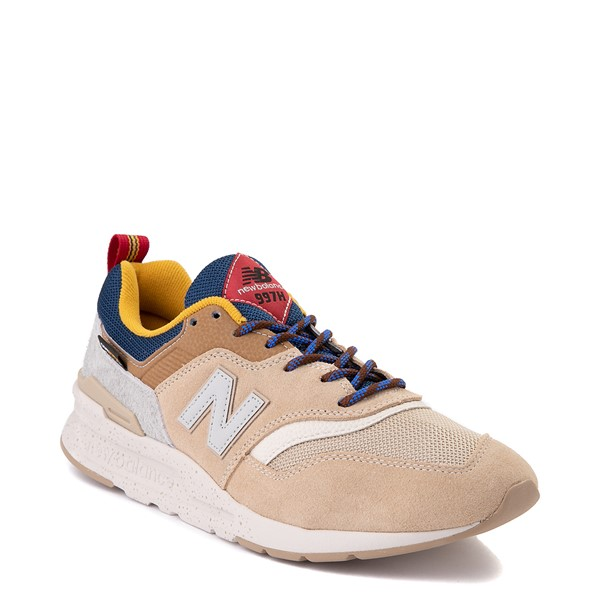 alternate view Mens New Balance 997H Athletic Shoe - Tan / Royal BlueALT5