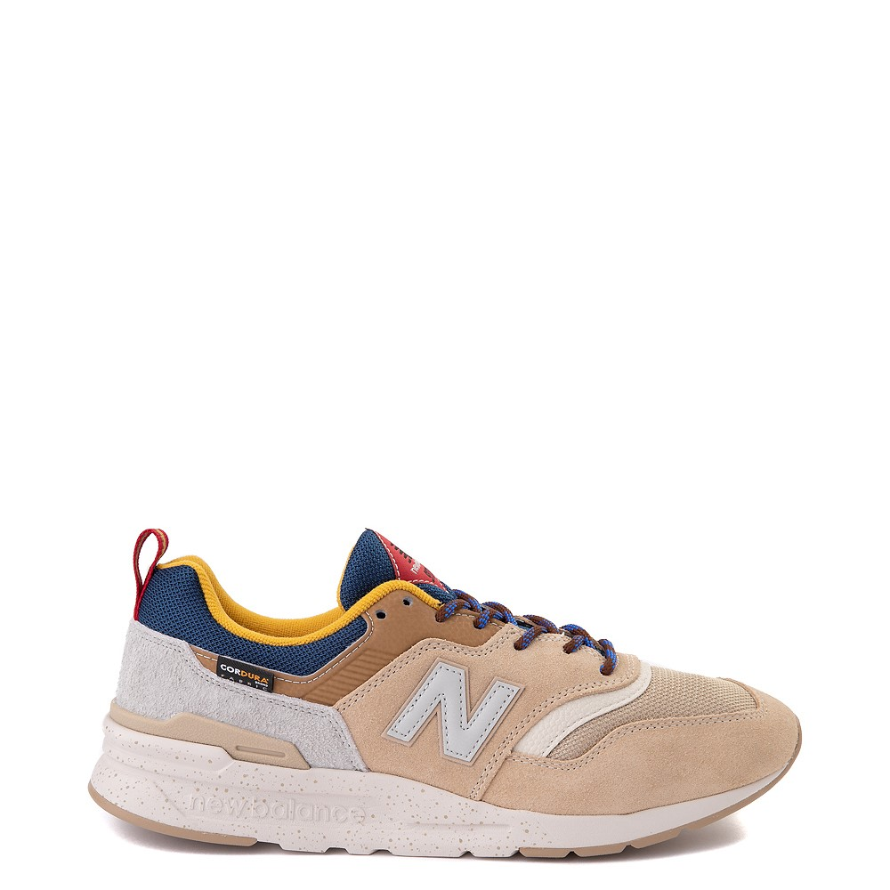 Mens New Balance 997H Athletic Shoe - Tan / Royal Blue