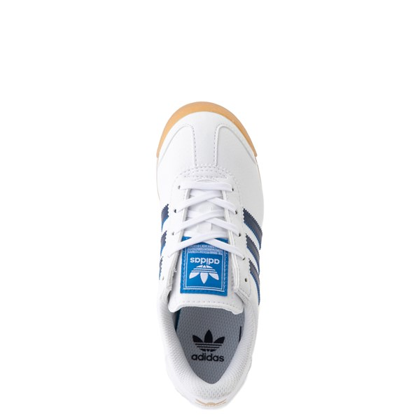 alternate view adidas Samoa Athletic Shoe - Little Kid - White / Navy / GumALT4B