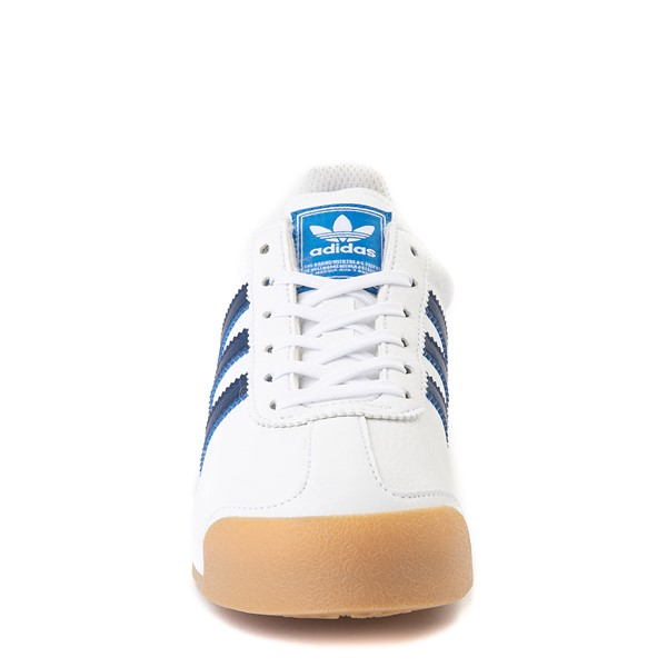 alternate view adidas Samoa Athletic Shoe - Big Kid - White / Navy / GumALT4