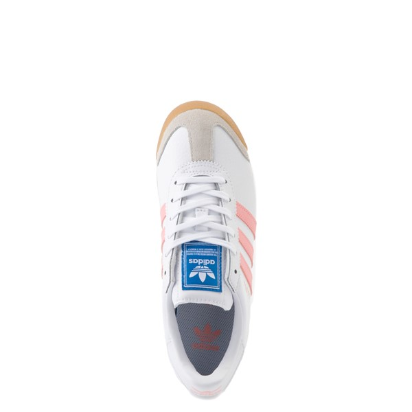 alternate view adidas Samoa Athletic Shoe - Big Kid - White / Pink / GumALT2