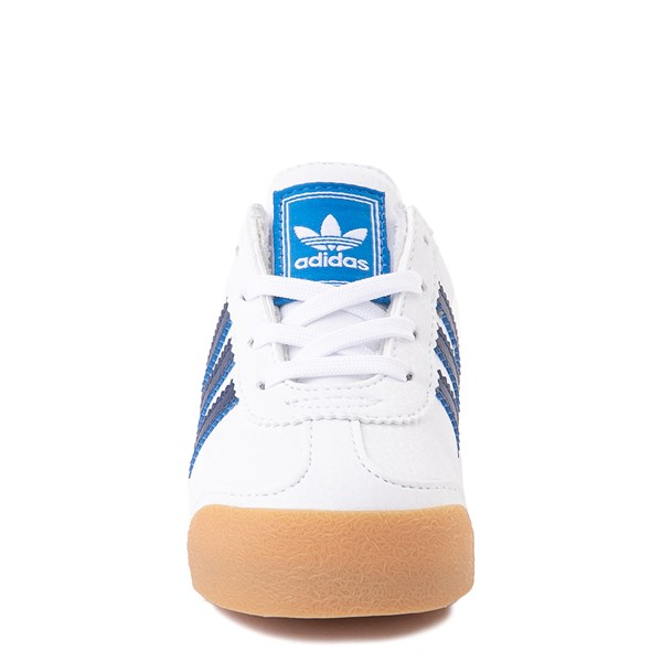 alternate view adidas Samoa Athletic Shoe - Baby / Toddler- White / Navy / GumALT4