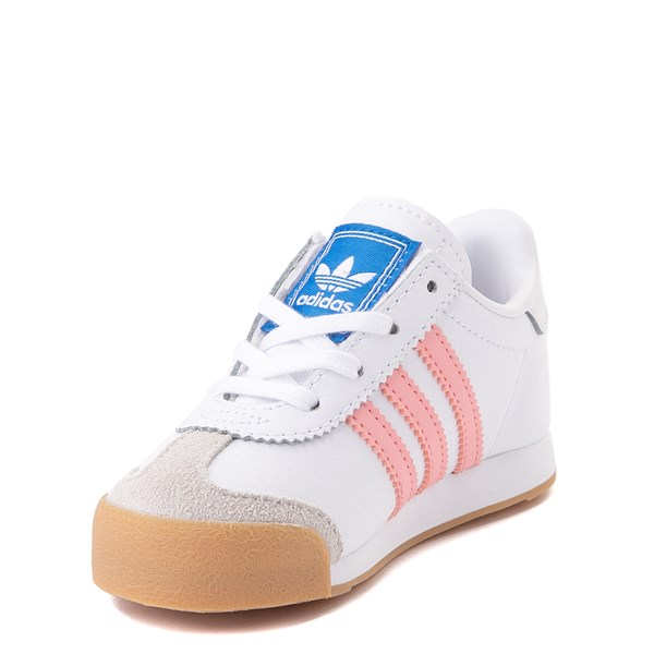 alternate view adidas Samoa Athletic Shoe - Baby / Toddler - White / Pink / GumALT3