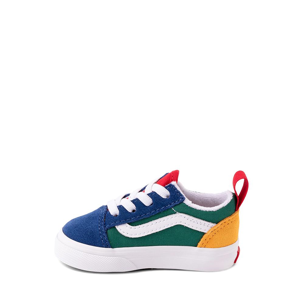 Vans Old Skool Color-Block Skate Shoe