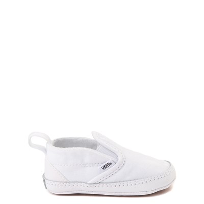 Main view of Vans Slip On Skate Shoe - Baby - True White
