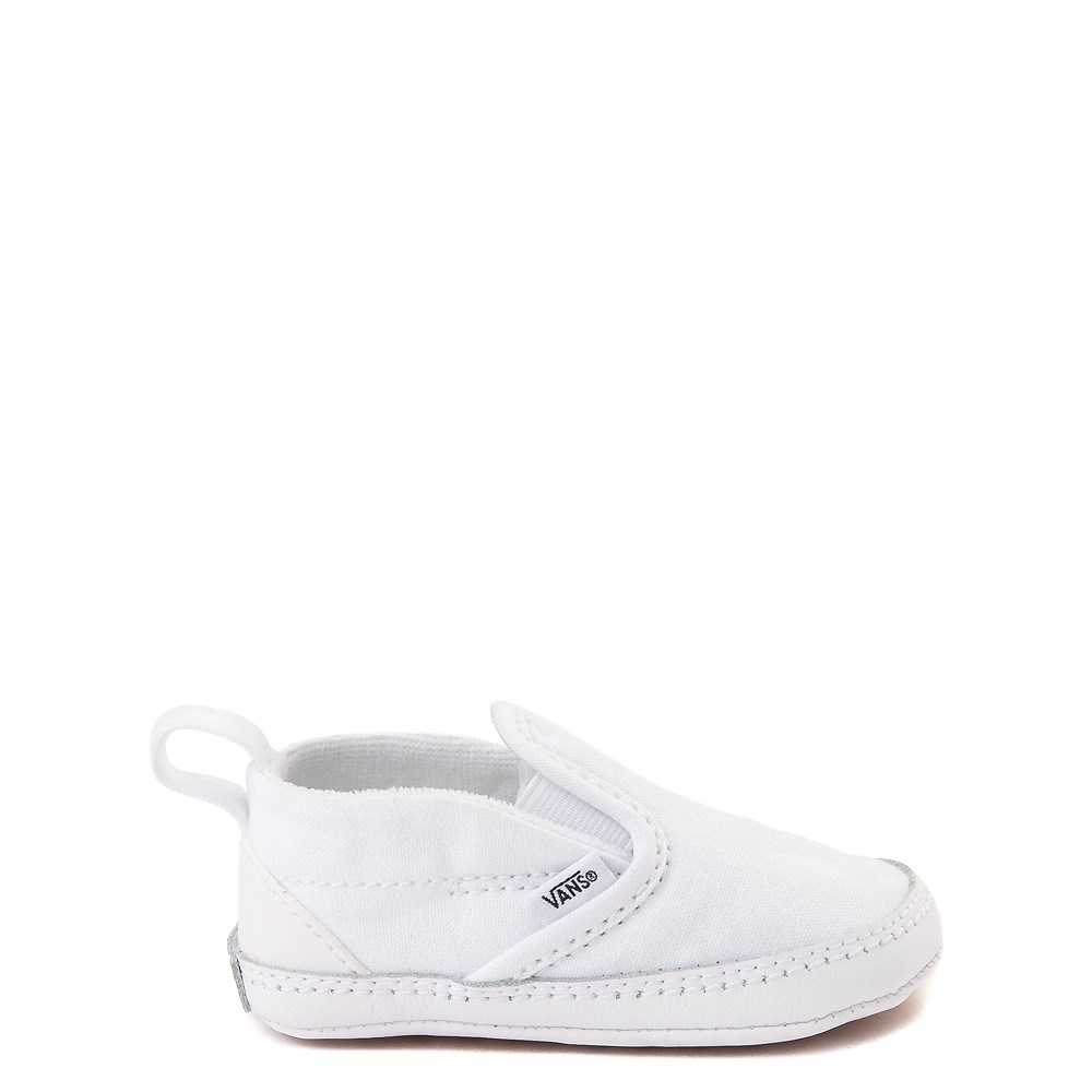 Vans Slip On Skate Shoe - Baby - True White