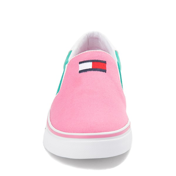 alternate view Womens Tommy Hilfiger Oaklyn Color-Block Slip On Casual Shoe - MulticolorALT4