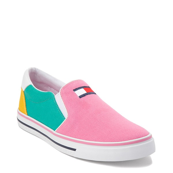 alternate view Womens Tommy Hilfiger Oaklyn Color-Block Slip On Casual Shoe - MulticolorALT5