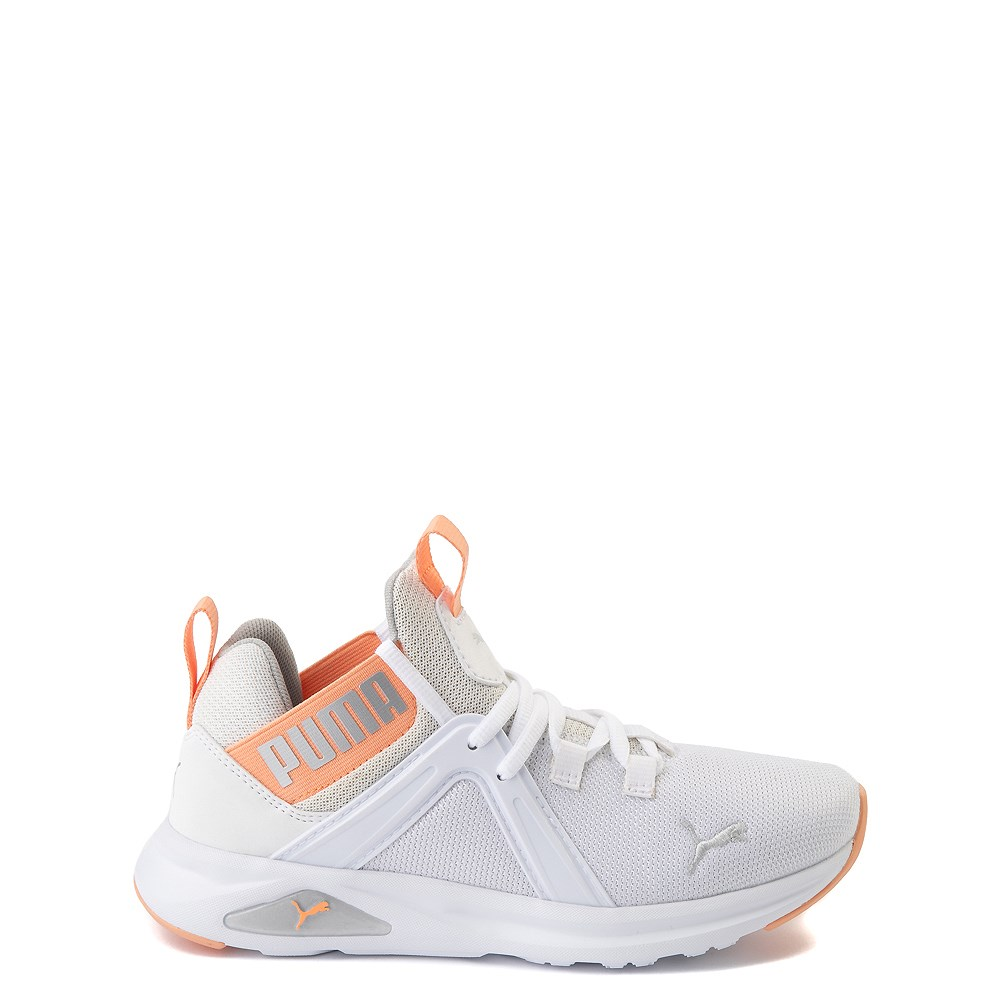 Puma Enzo Athletic Shoe - Big Kid - White / Coral