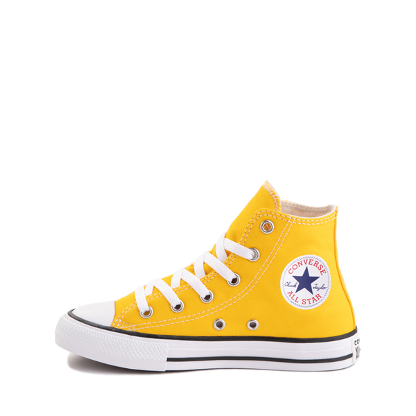 alternate view Converse Chuck Taylor All Star Hi Sneaker - Little Kid - Lemon ChromeALT1
