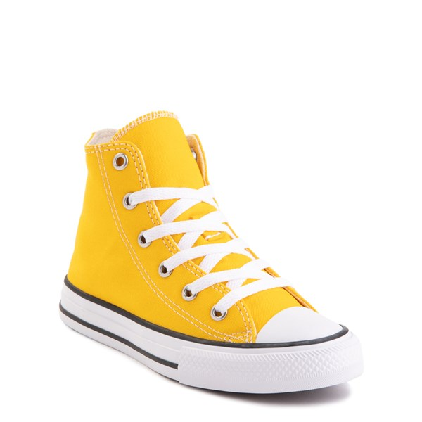 alternate view Converse Chuck Taylor All Star Hi Sneaker - Little Kid - Lemon ChromeALT1B