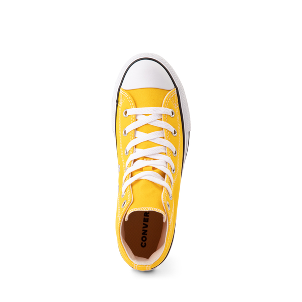 alternate view Converse Chuck Taylor All Star Hi Sneaker - Little Kid - Lemon ChromeALT2