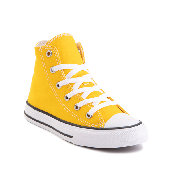 alternate view Converse Chuck Taylor All Star Hi Sneaker - Little Kid - Lemon ChromeALT5