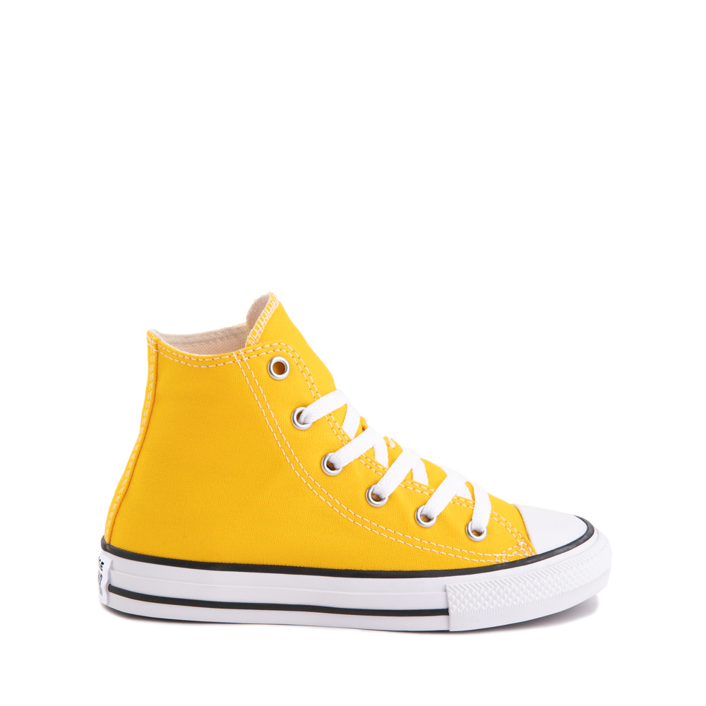 Converse Chuck Taylor All Star Hi Sneaker - Little Kid - Lemon Chrome