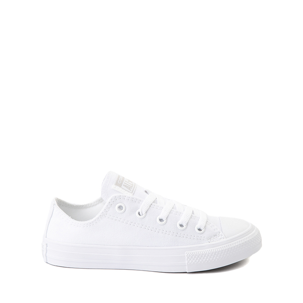 Main view of Converse Chuck Taylor All Star Lo Sneaker - Little Kid - White Monochrome