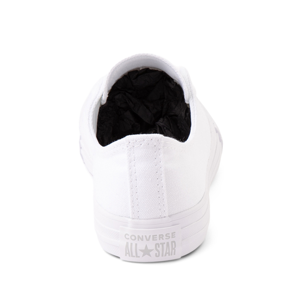 alternate view Converse Chuck Taylor All Star Lo Sneaker - Little Kid - White MonochromeALT4
