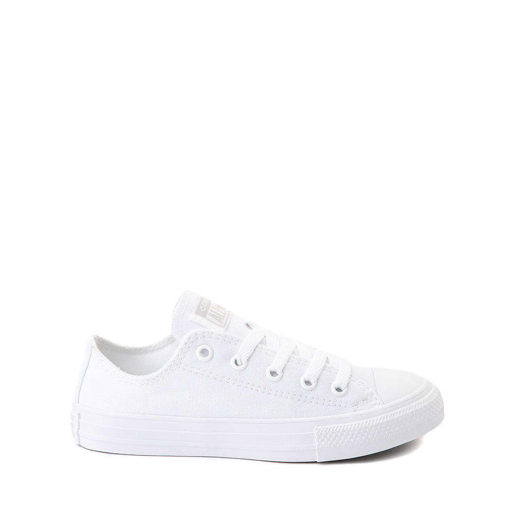 Converse Chuck Taylor All Star Lo Sneaker - Little Kid - White Monochrome