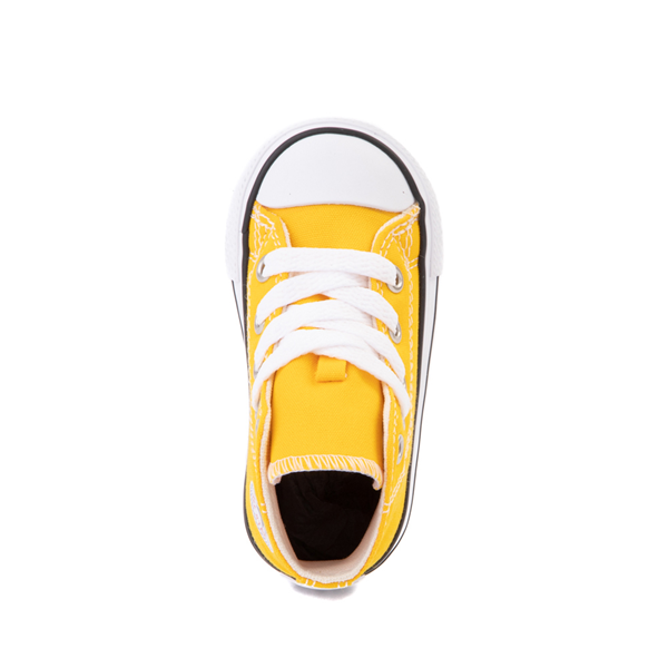 alternate view Converse Chuck Taylor All Star Hi Sneaker - Baby / Toddler - Lemon ChromeALT2