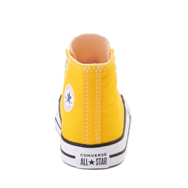 alternate view Converse Chuck Taylor All Star Hi Sneaker - Baby / Toddler - Lemon ChromeALT4