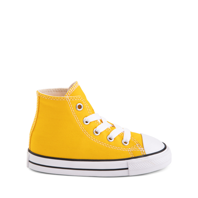 Main view of Converse Chuck Taylor All Star Hi Sneaker - Baby / Toddler - Lemon Chrome
