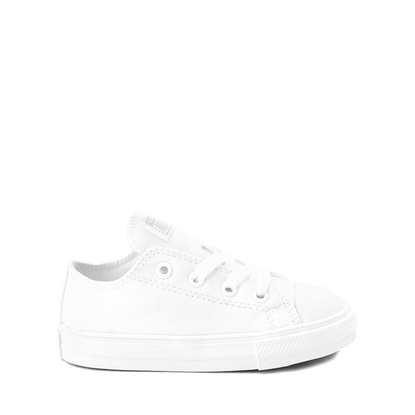 Main view of Converse Chuck Taylor All Star Lo Sneaker - Baby / Toddler - White Monochrome