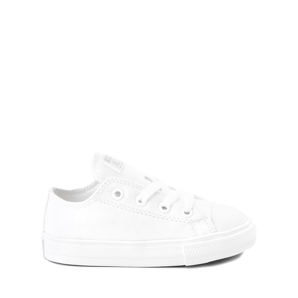 Converse Chuck Taylor All Star Lo Sneaker - Baby / Toddler - White Monochrome